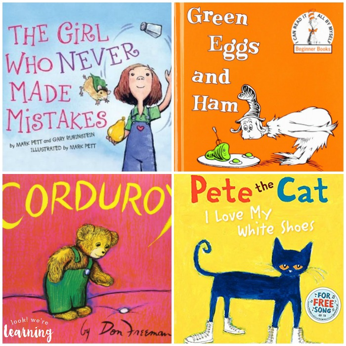 Books with Pictures for Preschoolers - Look! We're Learning!