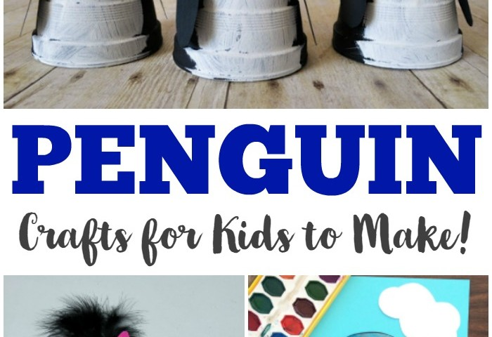 Penguin Crafts for Kids