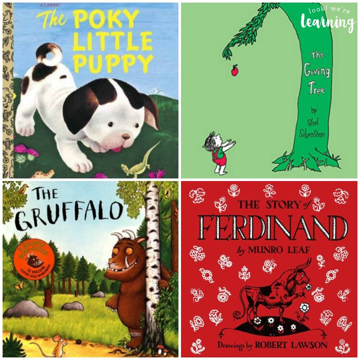 Picture Books for Preschoolers to Read with Parents - Look! We're Learning!
