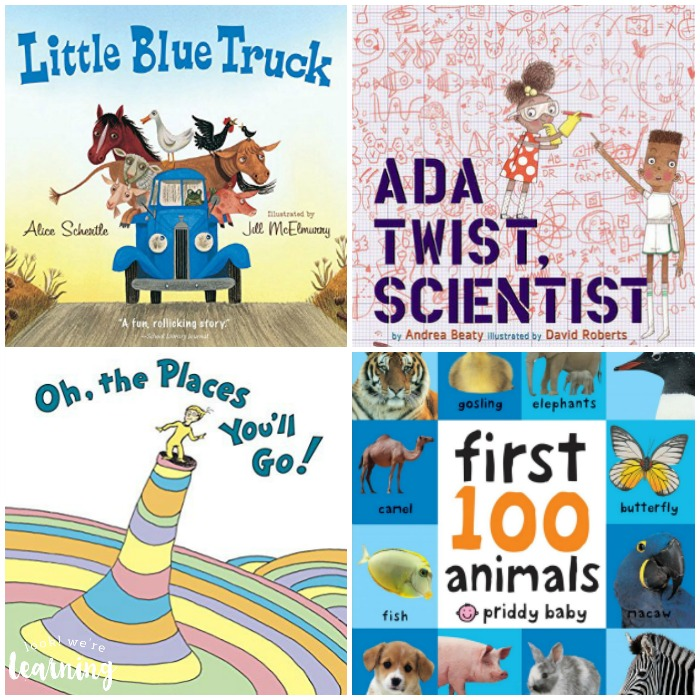 PreK Picture Books for Kids - Look! We're Learning!