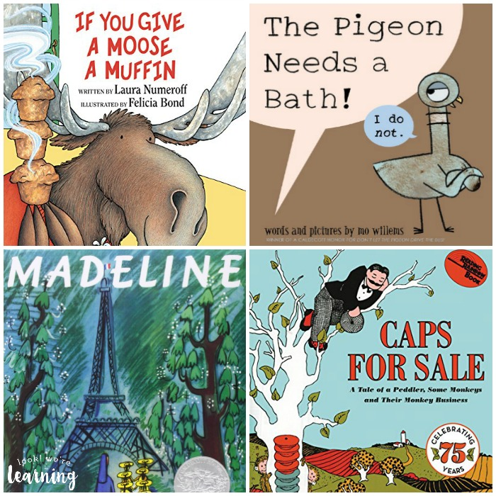 Preschool Picture Books to Read - Look! We're Learning!