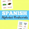 Teach your kids to identify the Spanish alphabet with these Spanish alphabet flashcards!