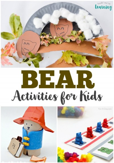 This fun bears unit study for kids features printables, activities, and videos for learning about these furry friends!