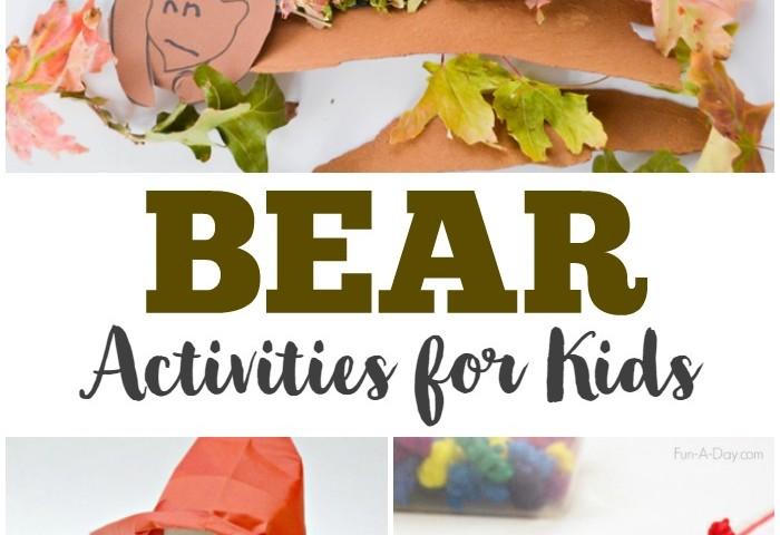 Homeschool Unit Studies: Bears Unit Study for Kids