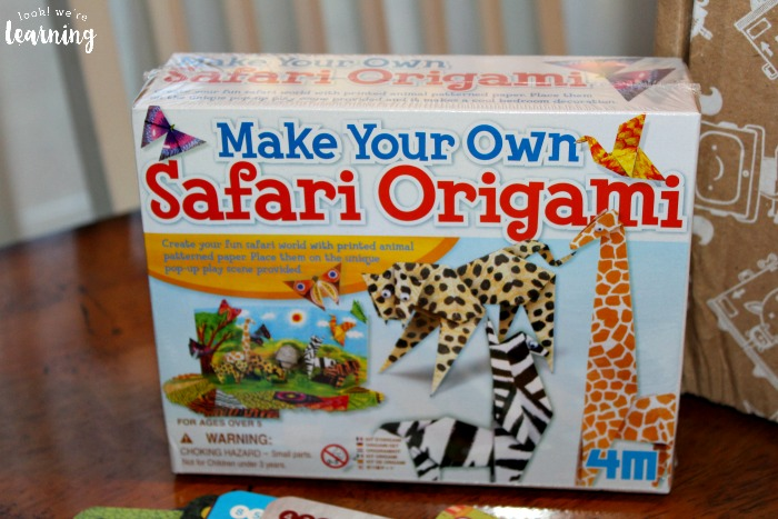 Bitsbox Animal House Safari Origami Kit - Look! We're Learning!