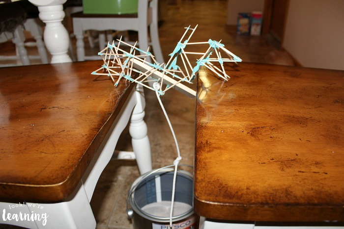 Breaking a Toothpick Bridge