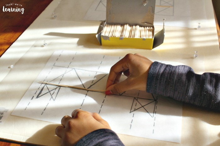 Designing a Toothpick Bridge