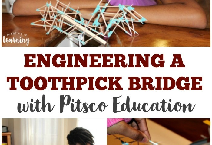 STEM for Homeschoolers: How to Build a Toothpick Bridge with Pitsco Education!