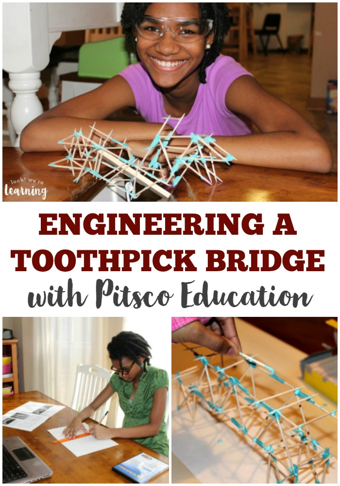 Engineering a Toothpick Bridge for Kids