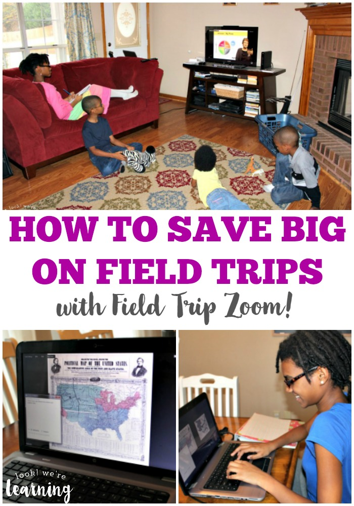 Having trouble affording field trips for your large family? Learn how to save BIG on field trips with Field Trip Zoom!
