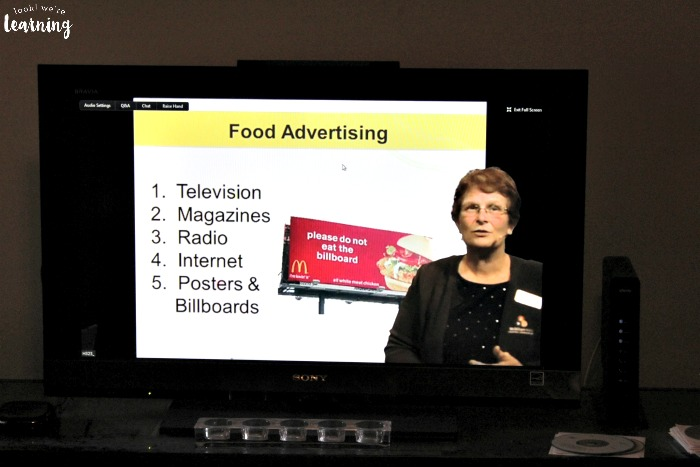 Studying Food Advertising During a Virtual Field Trip - Look! We're Learning!