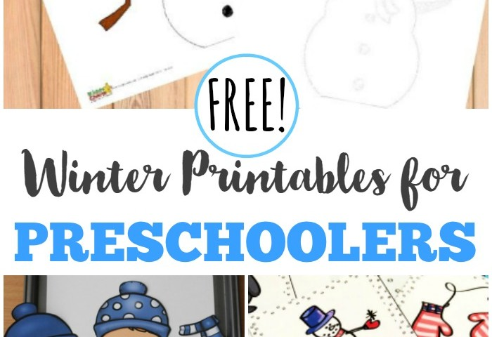 Free Winter Printables for Preschoolers