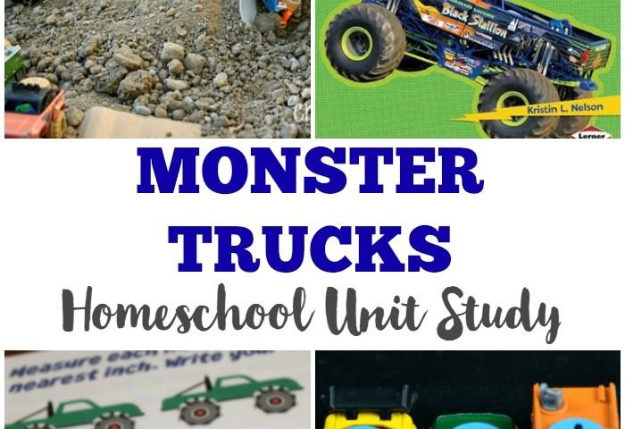 Monster Truck Unit Study