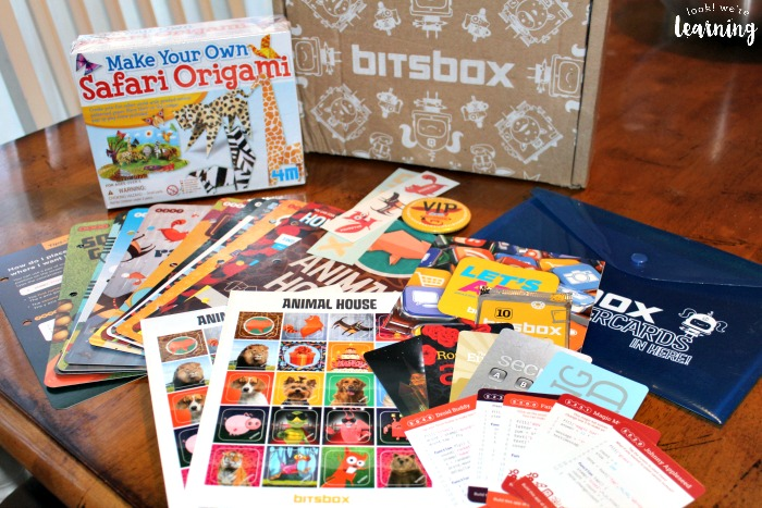 What's in a Bitsbox basic coding for kids kit? - Look! We're Learning!