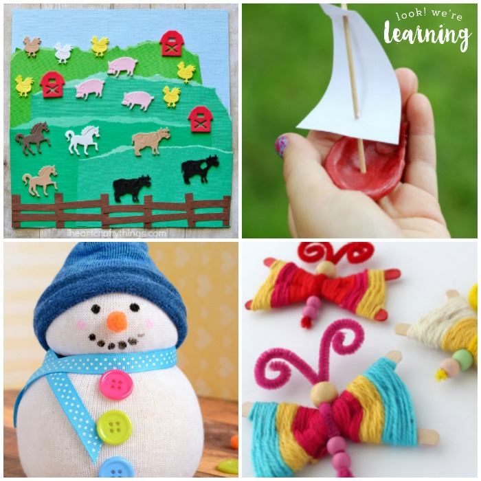 10 Minute Preschool Crafts You Can Make With the Kids