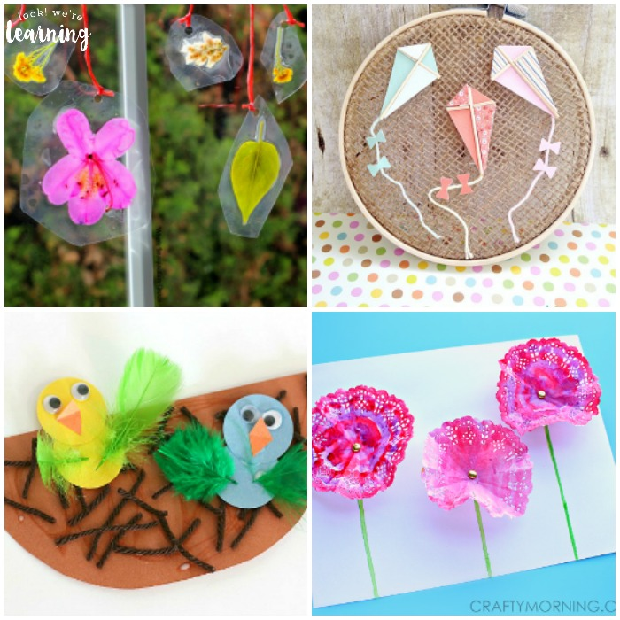 Adorable Spring Crafts For Kids To Make At Home