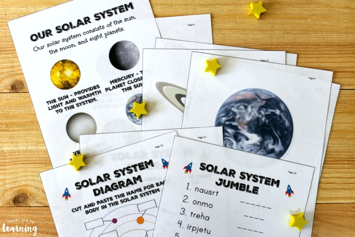 All About the Solar System Science Unit