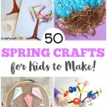 Get ready to welcome warmer weather with these fun spring crafts for kids to make!