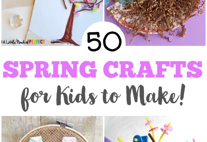 50 Spring Crafts for Kids