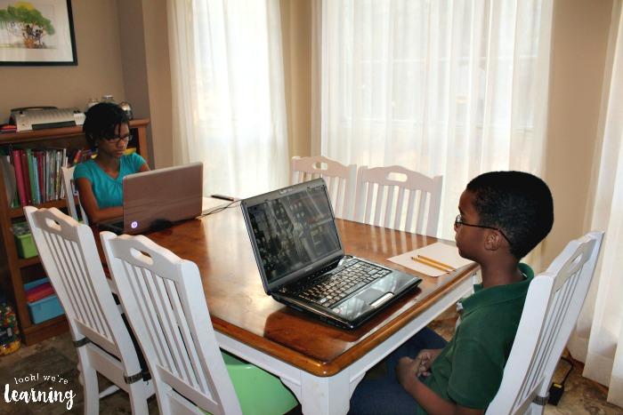 Homeschool Standardized Testing Setup at Home