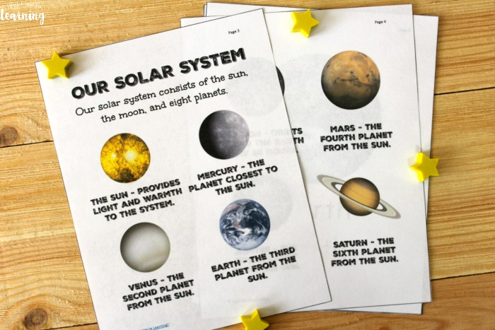 Learning About the Solar System Unit