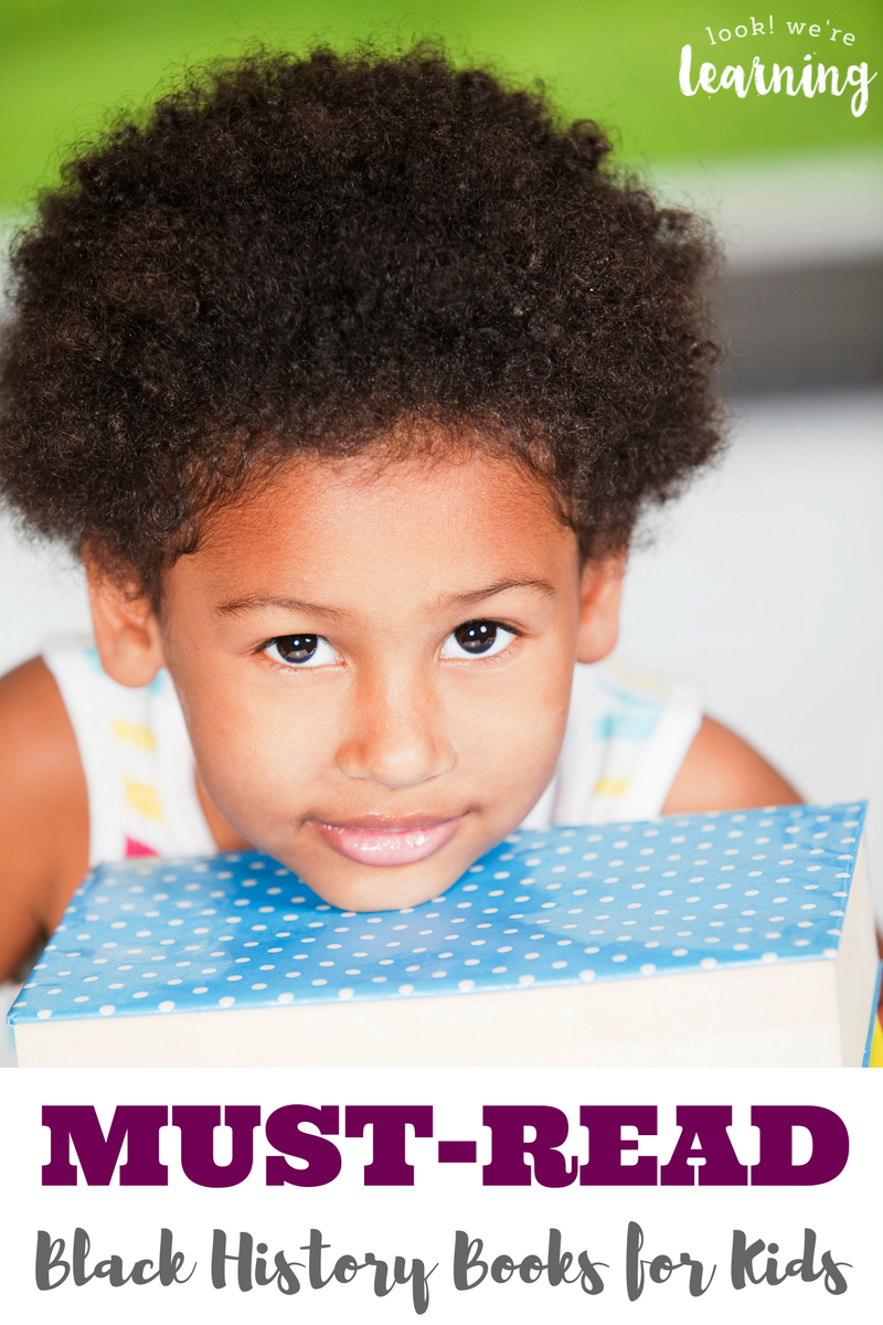 Learning about black history is such an important part of a child's education. Make it fun with these must-read black history books for kids!
