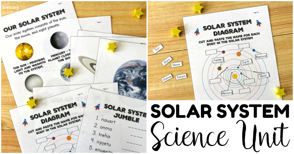 Printable Solar System Unit for Kids