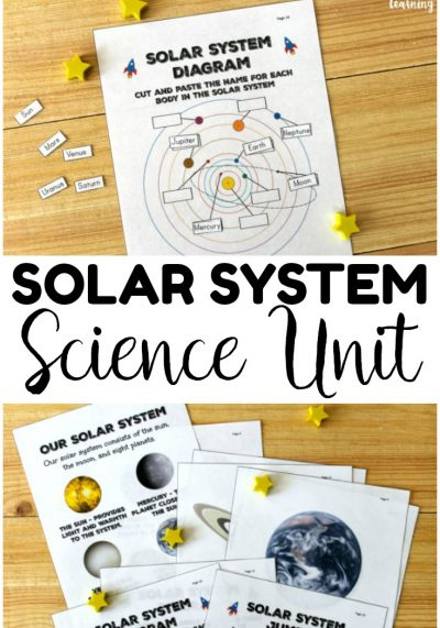 Ready to teach the kids about space? This printable solar system science unit study is perfect for exploring the members of our solar system!