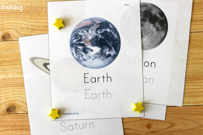 Solar System Printable Science Lesson for Kids