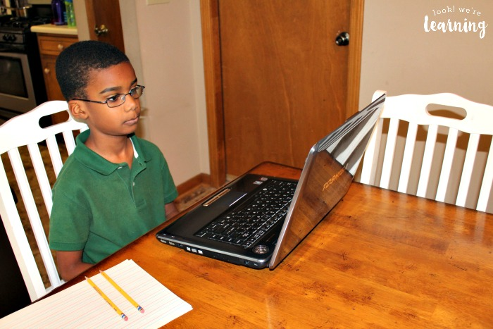 Taking a Homeschool Standardized Test Online