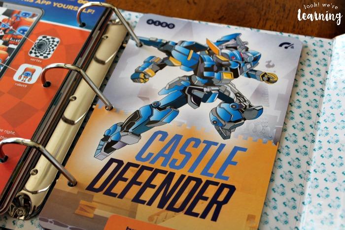 Bitsbox Castle Defender App - Look! We're Learning!
