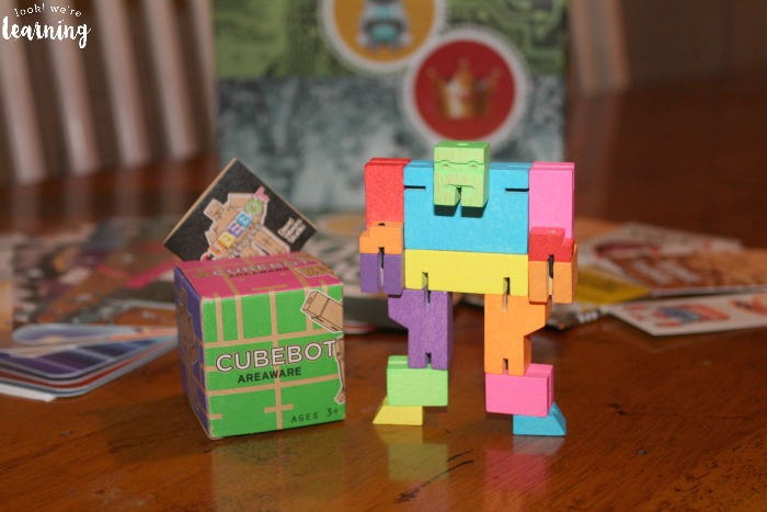 Bitsbox Cubebot Toy - Look! We're Learning!