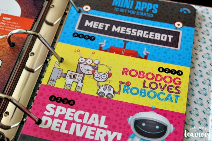 Bitsbox Robo Boogie Mini Apps - Look! We're Learning!