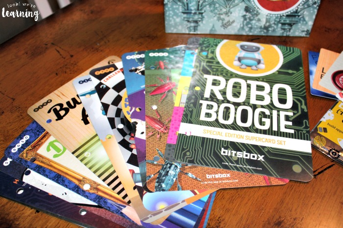 Bitsbox Robo Boogie Supercards - Look! We're Learning!