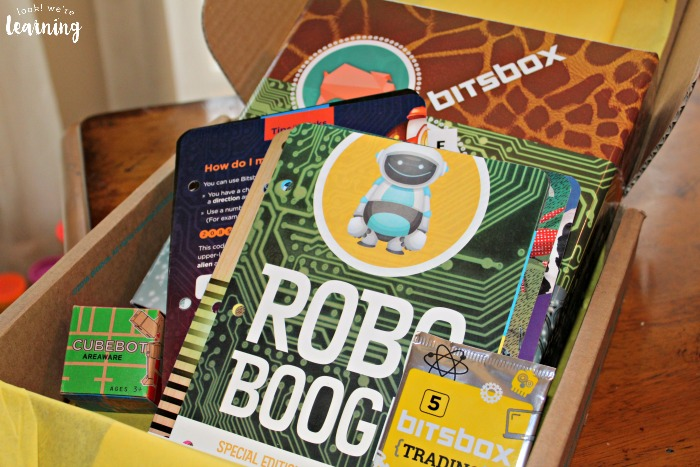 Bitsbox Subscription Box Review - Look! We're Learning!
