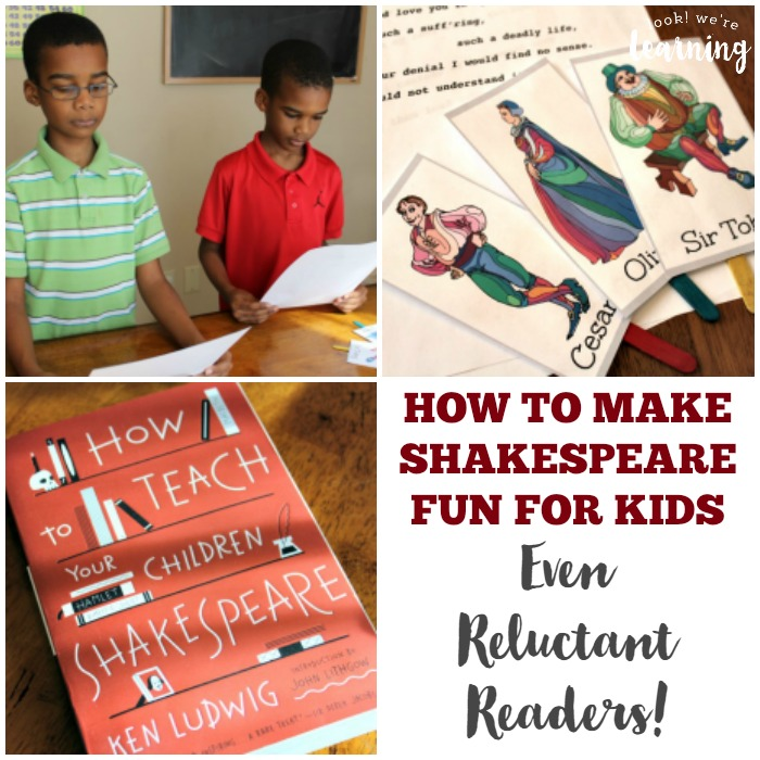 How to Make Shakespeare Fun for Kids