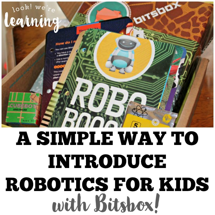 Introductory Robotics for Kids with Bitsbox - Look! We're Learning!
