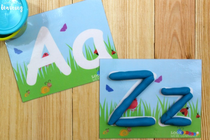 Printable Spring Playdough Mats for Kids