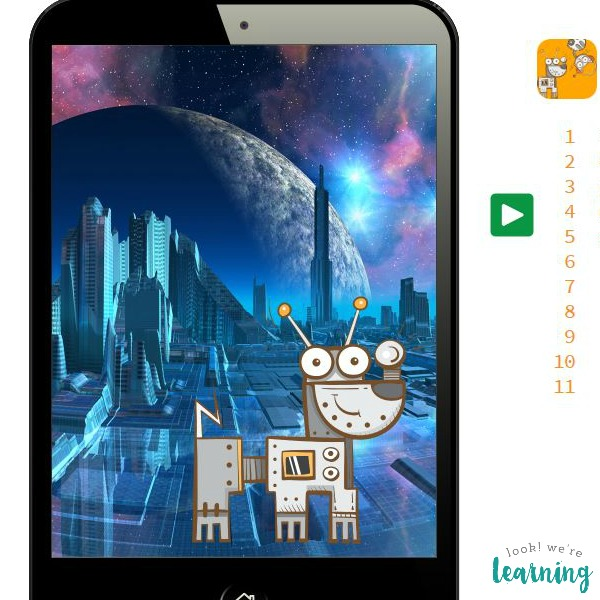 Robodog Loves Robocat Bitsbox App - Look! We're Learning!