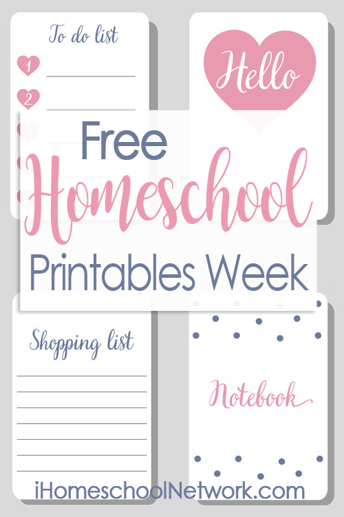 iHomeschool Network Free Homeschool Printables Linkup