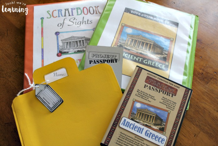 A Look at the Resources in the Project Passport Ancient Greece unit study