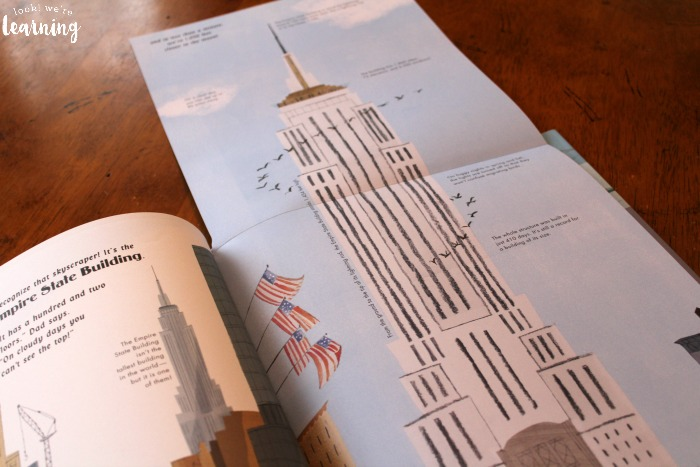 A Walk in New York City Empire State Building Foldout