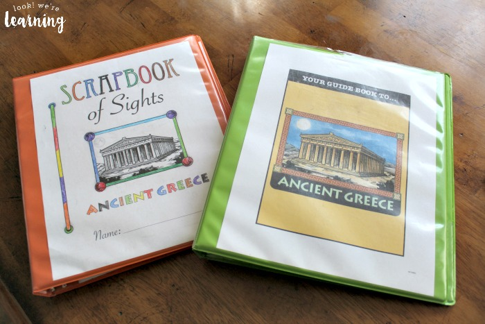 Ancient Greece Unit Study Binders
