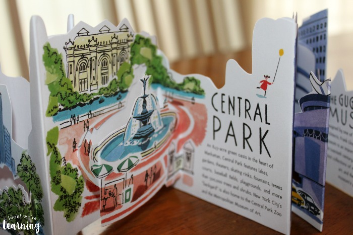 Candlewick Press Panorama Pops New York Central Park