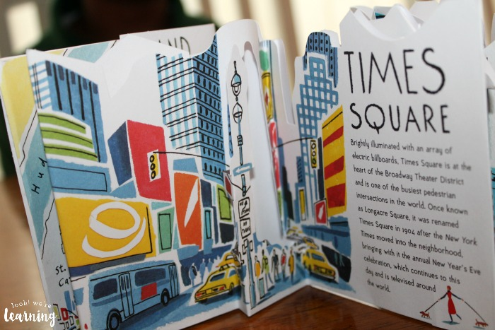 Candlewick Press Panorama Pops New York Times Square