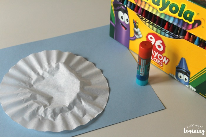 Coffee Filter Basketball Craft Supplies