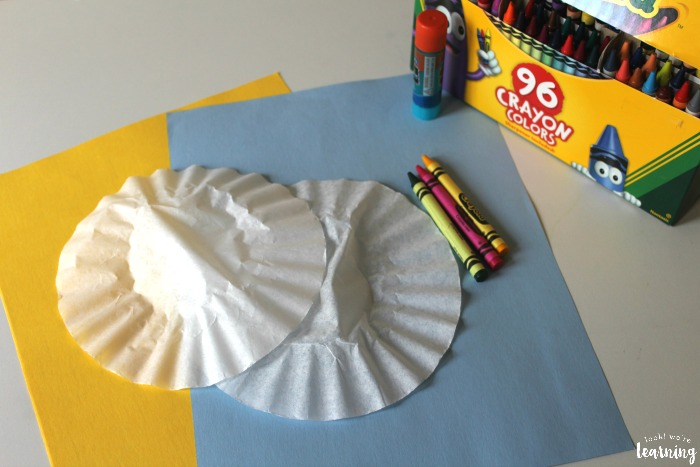 Coffee Filter Flower Craft Supplies