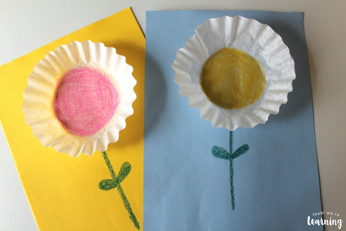 Easy Coffee Filter Flower Craft