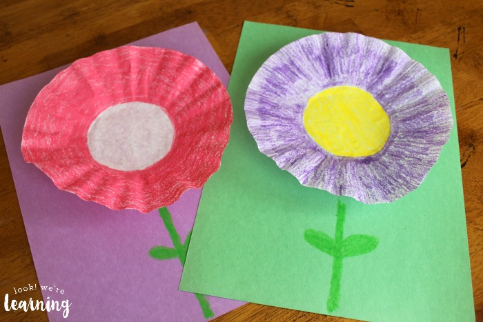 Easy Coffee Filter Flower Crafts