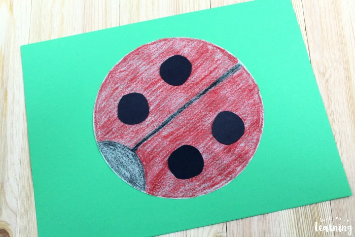 Easy Coffee Filter Ladybug Craft for Kids
